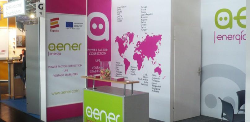 Aener participará en Hannover Messe