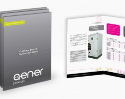 AENER presents its new general catalogue with great advances in energy saving