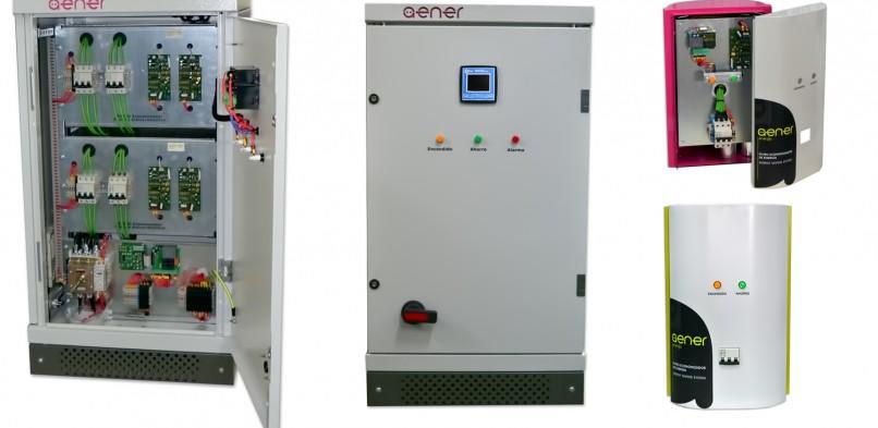 Aener crea un innovador equipo que reduce el consumo de las instalaciones eléctricas